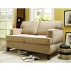 <strong>Lauder Microfiber Loveseat</strong> by Kingstown Home