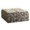 Kingstown Home Novella Mod Geometric Print Storage Ottoman