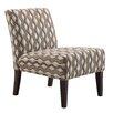 Kingstown Home Novella Wavy Stripe Slipper Chair