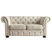 Kingstown Home Carthusia Button Tufted Loveseat