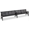 Anova Horizon Cast Iron Garden Bench