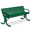 Anova Courtyard Steel Picnic Bench