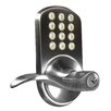 <strong>Electronic Keyless Entry Door Lever with Lock</strong> by Milocks