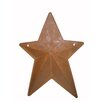 "<strong>Craft Outlet</strong> 18"" Natural Tin Country Star Pocket"