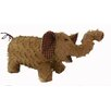 <strong>Shabby Elegance Fabric Chenille Elephant Collectible Figurine</strong> by Craft Outlet