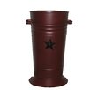 Craft Outlet Floral Container with Star