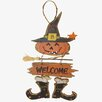 Craft Outlet Witch Hanging Welcome Sign