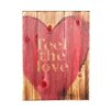 "Holly & Martin Swoon Wall Panel ""Feel The Love"" Painting Print Plaque"