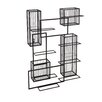 Holly & Martin Wisegrid 8 Bottle Wine Rack & Cork Wall Cage