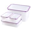 Jocca 4 Piece Food Saver Container Set