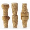 Axis Sourcing Group Inc 6 Piece Replacement Cork Bottle Stopper Set