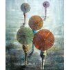 <strong>Grander Images</strong> Bring Your Parasol Original Painting on Canvas