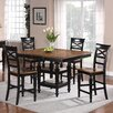 <strong>Wildon Home ®</strong> Counter Height Extendable Dining Table