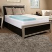 "<strong>Comfort Blend</strong> 5.5"" Memory Foam and Fiber Mattress Topper"