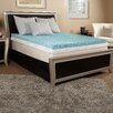 "<strong>Comfort Blend</strong> 3"" Textured Gel Memory Foam Mattress Topper"