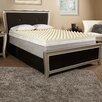 """<strong>3"""" Textured Memory Foam Topper</strong> by Luxury Solutions"""