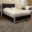 "Luxury Solutions 4"" Textured Memory Foam Mattress Topper"
