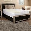 "Luxury Solutions 4.5"" Memory Foam and Fiber Mattress Topper"