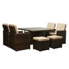 The-Hom Shalimar 9 Piece Patio Set
