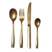 Seletti The Midas 24 Piece Steel Electroplated Flatware Set