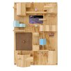 Seletti Suburbia Wooden Wall Storage Solution