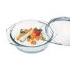Simax Borosilicate Glass Round Casserole