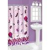 Popular Bath Vinyl 3D Fragrance Shower Curtain