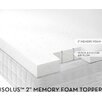 Malouf Ventilated Memory Foam Mattress Topper