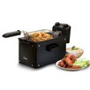 <strong>Elite by Maxi-Matic</strong> Platinum 3.31 Liter Immersion Deep Fryer with Timer