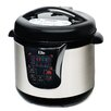 Elite by Maxi-Matic Platinum 8-Quart Electric Stainless Steel Pressure Cooker with 13 Functions