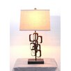"""Teton Home 31"""" H Table Lamp with Drum Shade (Set of 2)"""