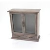 Teton Home Wood Wall Cabinet