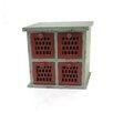 Teton Home 4 Drawer Cabinet (Set of 2)