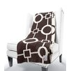 Little Giraffe Dolce Matrix Fabric Throw