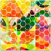 <strong>Modern Honey Comb I by Amy Lighthall Wall Art on Canvas</strong> by Mantle Art