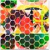 Mantle Art Modern Honey Comb II by Amy Lighthall Wall Art on Canvas