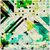 Mantle Art Modern Dots and Stripes I by Amy Lighthall Wall Art on Canvas