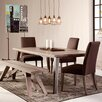 "Saloom Furniture Dartmouth 72"" Extendable Dining Table"