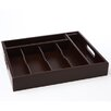 <strong>45/65 Piece Rosewood Tray Set</strong> by Cambridge SIlversmith