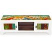 """EcoChic Lifestyles Channel Surf 59"""" Reclaimed Wood TV Stand"""