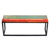 EcoChic Lifestyles Galley Cat Reclaimed Wood Bench