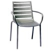 BFM Seating South Beach Stacking Dining Arm Chair