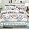 Cathay Home, Inc Izabella 3 Piece Comforter Set (Set of 3)