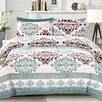 Cathay Home, Inc Izabella 3 Piece Comforter Set
