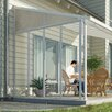 Palram Feria™ 10ft. H x  9ft. D Patio Cover Awning Sidewall Kit