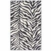 River of Goods Black and White Tiger Rug