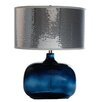 "River of Goods Roxy Glam 24.5"" H Table Lamp with Drum Shade"