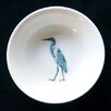 Kim Rody Creations Bird Cris's Back Yard Egret Lil' Dipping Dish