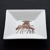 <strong>Kim Rody Creations</strong> She's Got Legs Lobster Square Tidbit Dish