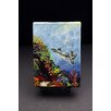 """Kim Rody Creations Ocean """"Brenda's Turtle"""" Giclee Print on Gallery Wrapped Canvas"""